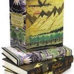 Image of the slipcase and books of John D. Rateliff's History of the Hobbit