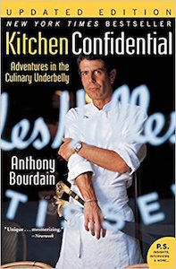 Cover of Anthony Bourdain's Kitchen Confidential