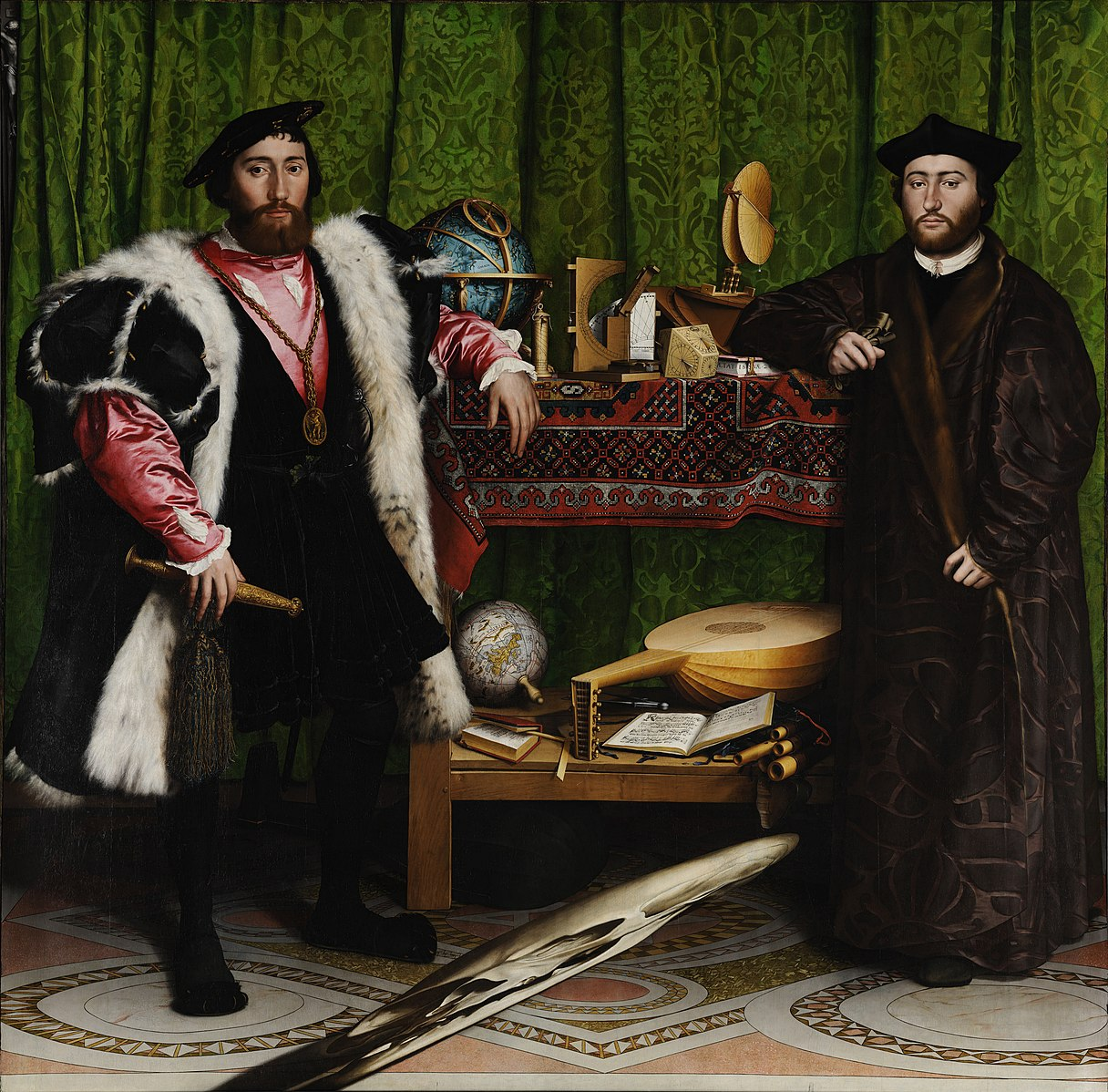 Image of Hans Holbein's The Ambassadors